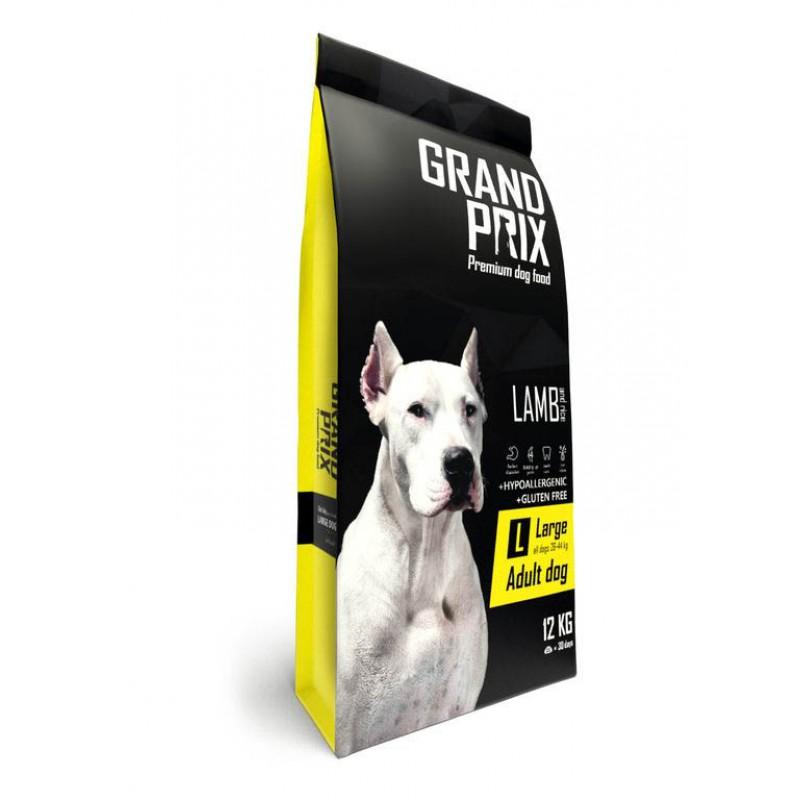 Сухой корм для собак Grand Prix LargeAdult с ягненком для крупных пород 12 кг