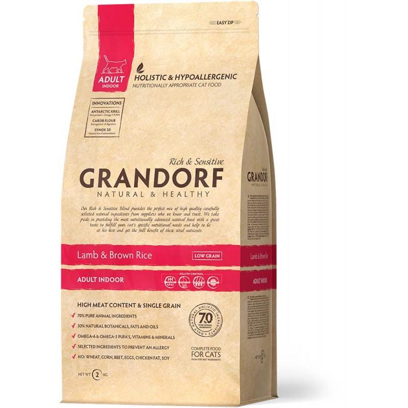 Сухой корм для кошек Grandorf Cat Indoor 2 кг