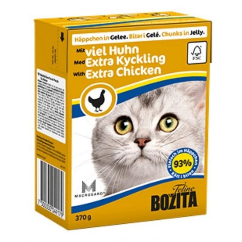 Влажный корм для кошек Bozita Feline Extra Chicken 0,37 кг