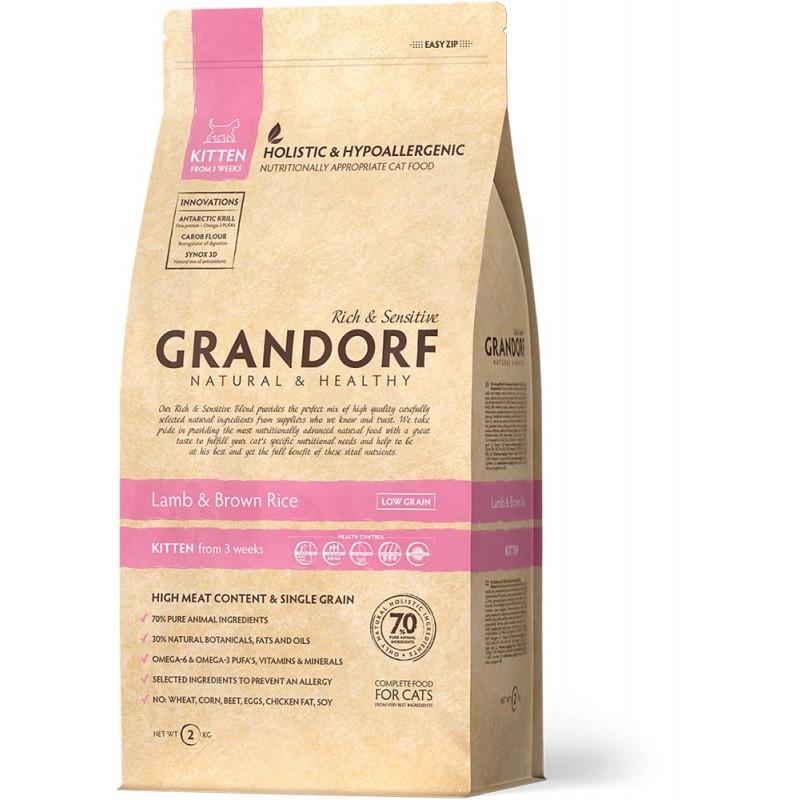 Сухой корм для котят Grandorf Kitten 0,4 кг