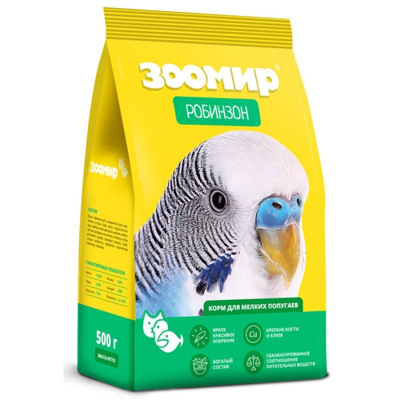 Сухой корм для попугаев Зоомир