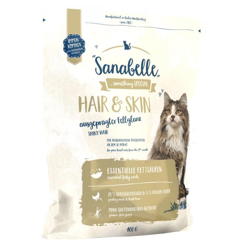 Сухой корм для кошек Sanabelle Hair&Skin 0,4 кг