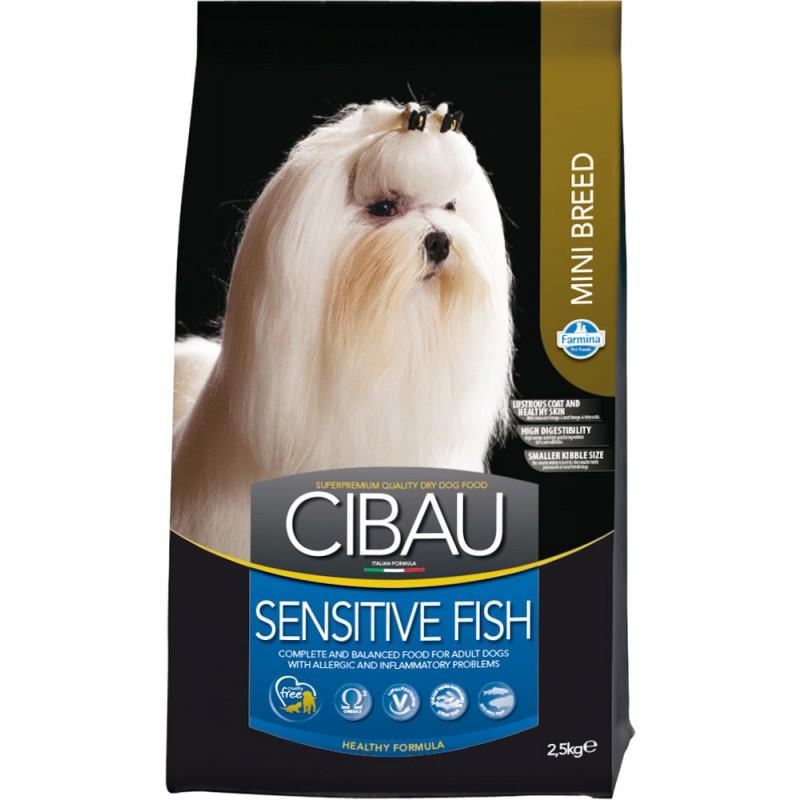Сухой корм для собак Farmina Cibau Sensitive Fish Mini 2,5 кг