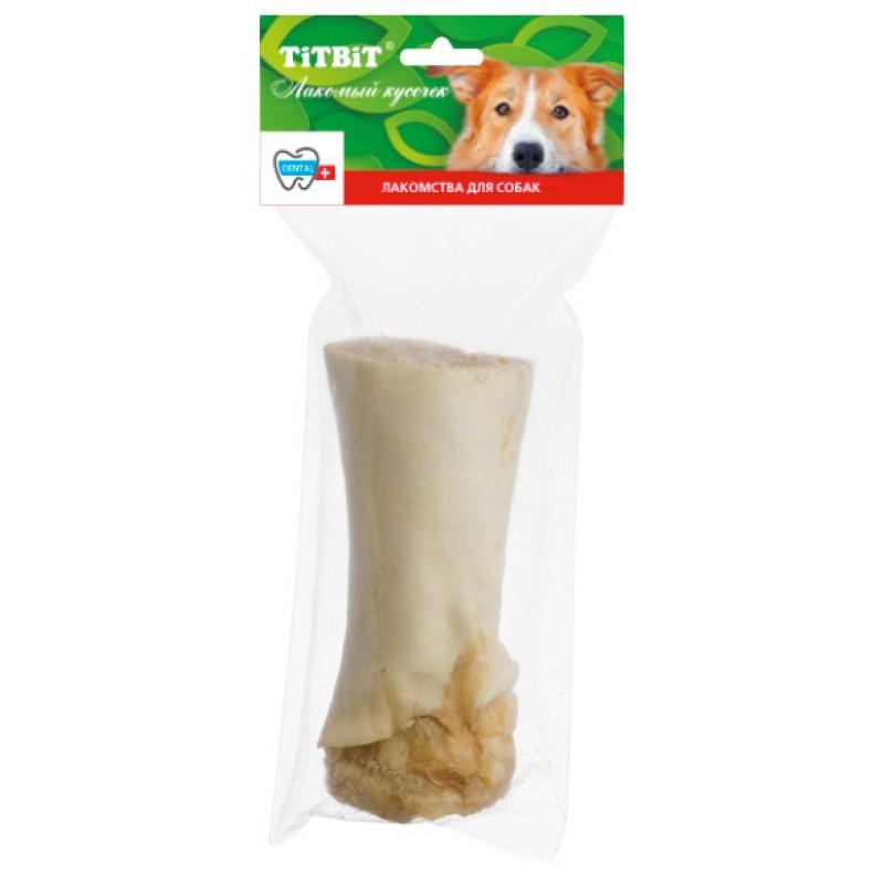 Лакомство для собак Titbit Голень говяжья в мягкой упаковке 0,379 кг