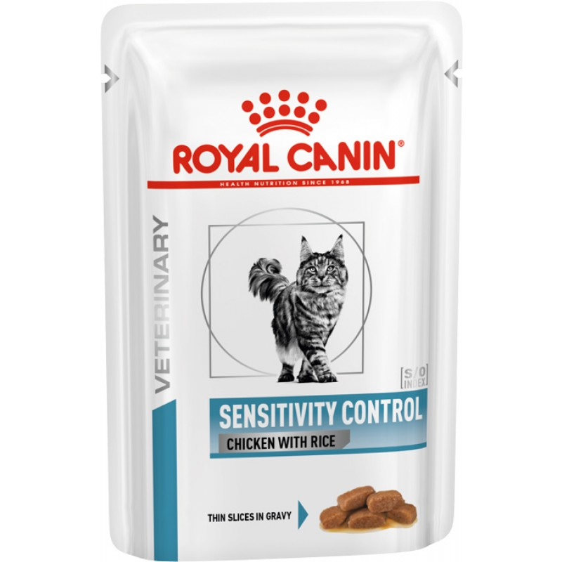 Влажный корм Royal Canin Sensitivity Control Chiken Feline пауч диета для кошек 0,085 кг