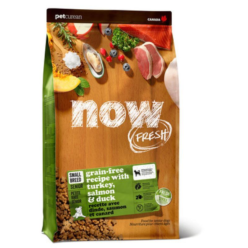 Сухой корм для собак Now FRESH Grain Free Small Breed Senior Recipe Grain Free 5,45 кг