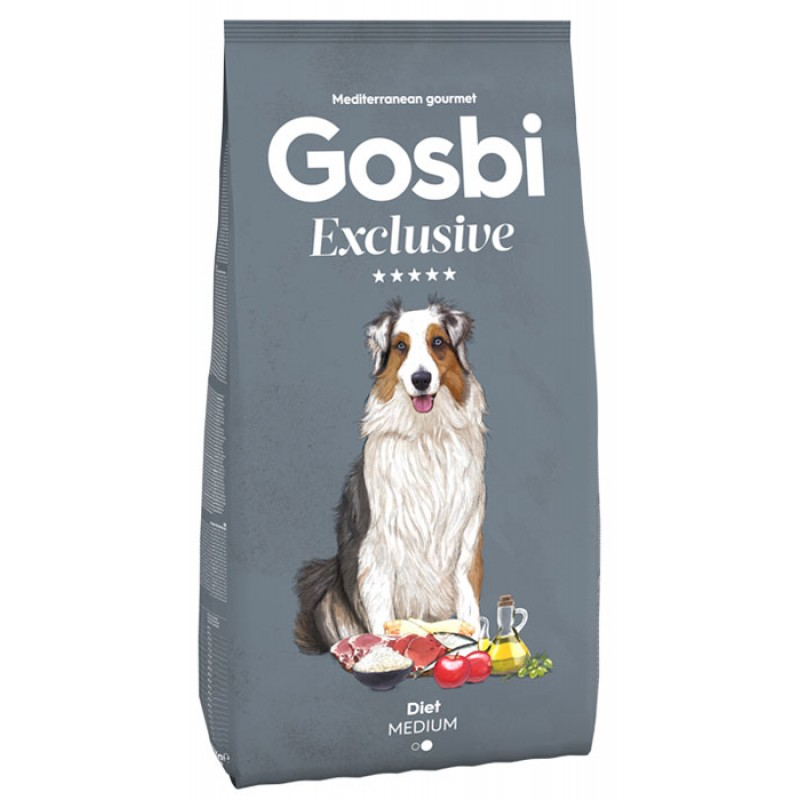 Сухой корм для собак Gosbi Exclusive Diet Medium для средних пород 3 кг