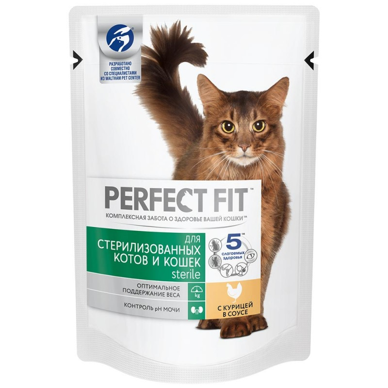 Влажный корм для кошек Perfect Fit Sterile 0,085 кг