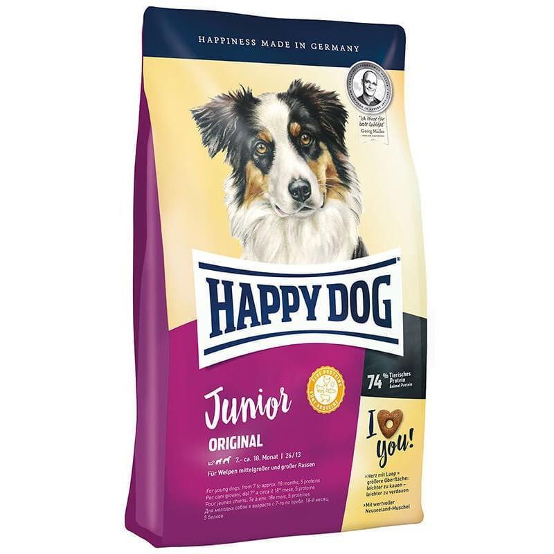 Сухой корм для собак Happy Dog Junior Original 10 кг