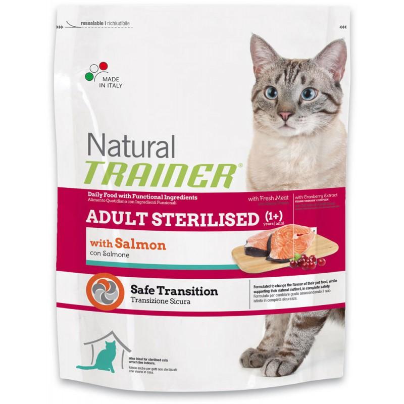 Сухой корм для кошек Trainer Natural Adult Sterilised Salmon 0,3 кг