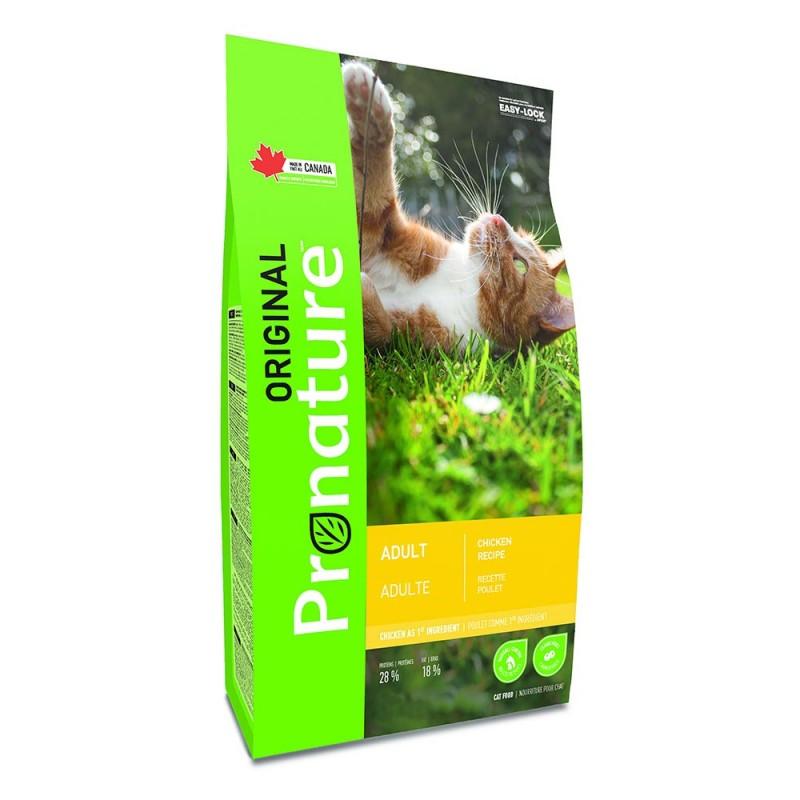 Сухой корм для кошек Pronature Original с курицей 2,27 кг