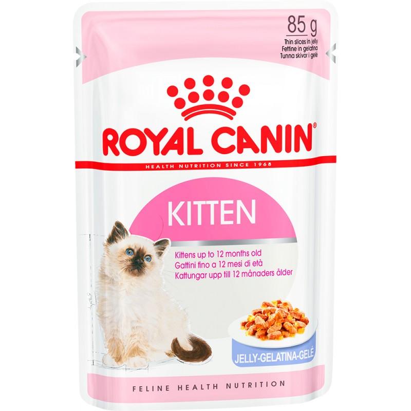 Влажный корм для котят Royal Canin Kitten Instinctive Jelly 0,085 кг