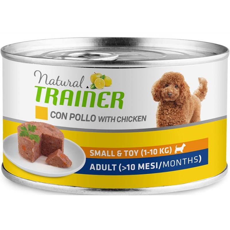 Влажный корм для собак Trainer Natural Small & Toy Adult with Chicken 0,15 кг