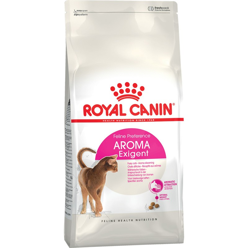 Сухой корм для кошек Royal Canin Aroma Exigent 4 кг