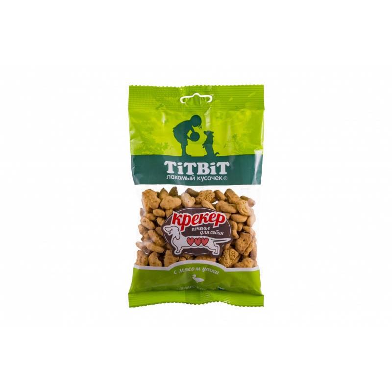Лакомство для собак Titbit Крекер с мясом утки 0,1 кг