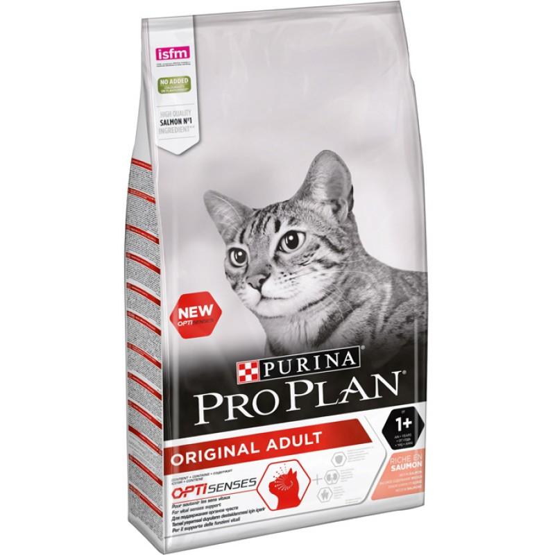 Сухой корм для кошек Purina Pro Plan Adult Feline Salmon 10 кг