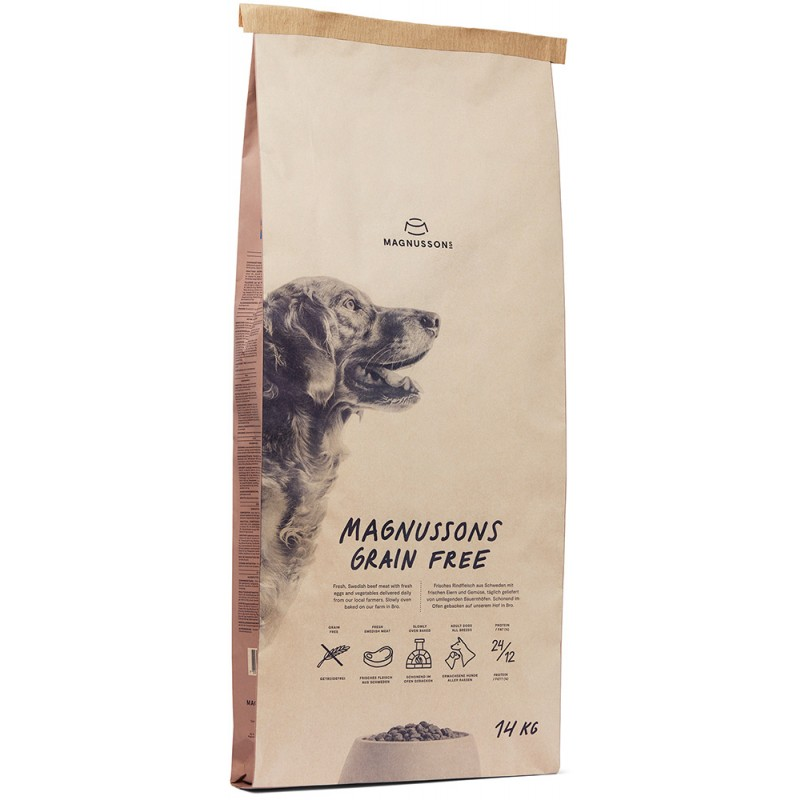 Сухой корм для собак Magnusson Meat&Biscuit Grain Free 4,5 кг