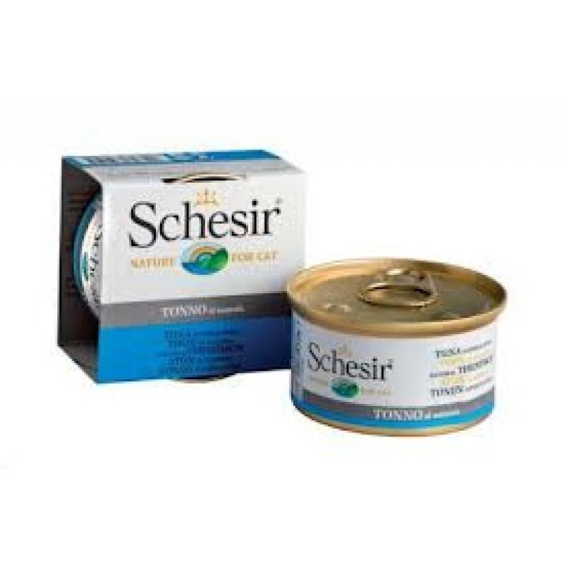 Влажный корм для кошек Schesir Nature Tuna в собственном соку 0,085 кг