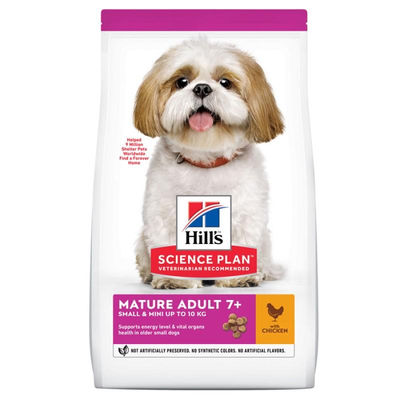 Сухой корм для собак Hills Science Plan Canine Mature Adult 7+ Small & Miniature Chicken 1,5 кг
