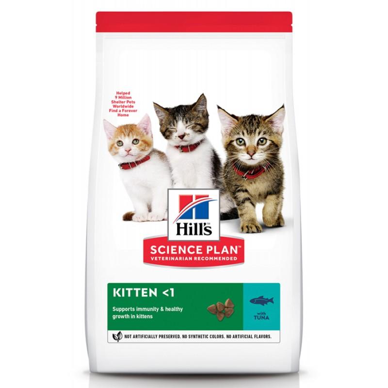 Сухой корм для котят Hills Science Plan Healthy Development Kitten with Tuna 0,3 кг