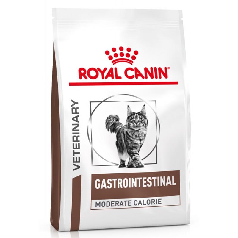 Сухой корм Royal Canin Gastro Intestinal Moderate Calorie GIM35 диета для кошек 2 кг