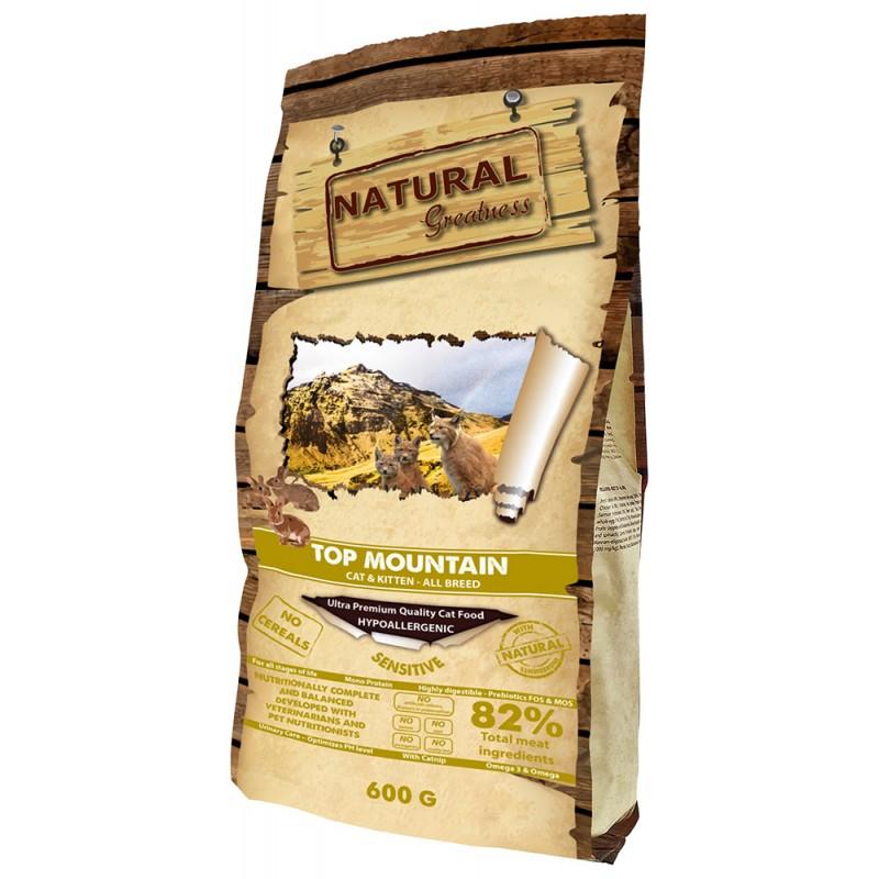 Сухой корм для кошек Natural Greatness Top Mountain Recipe 0,6 кг
