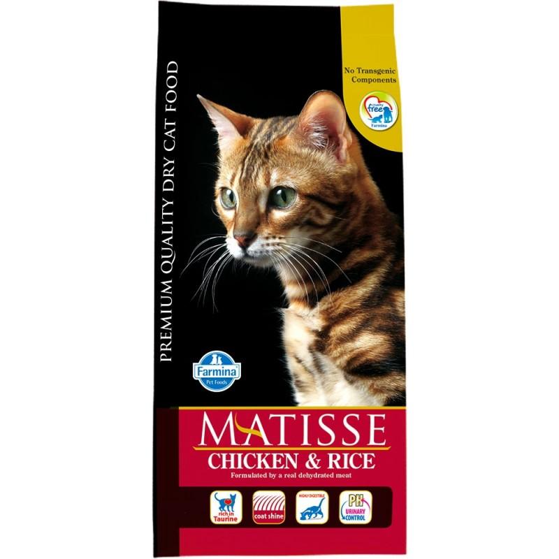 Сухой корм для кошек Farmina Matisse Chicken & Rice 0,4 кг