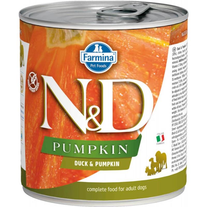 Влажный корм для собак Farmina N & D Duck & Pumpkin с уткой и тыквой 0,285 кг