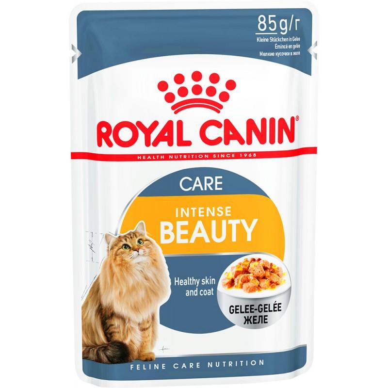 Влажный корм для кошек Royal Canin Intense Beauty в желе 0,085 кг