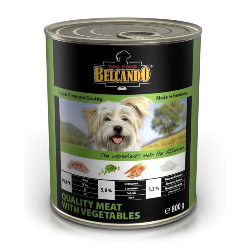 Влажный корм для собак Belcando Quality Meat with Vegetables 0,8 кг