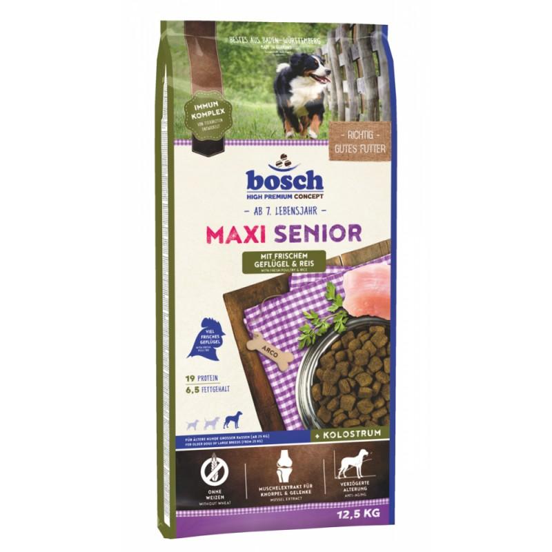 Сухой корм для собак Bosch Senior Maxi Poultry & Rice 12,5 кг