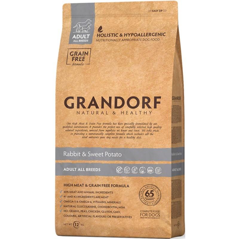 Сухой корм для собак Grandorf Rabbit&Potato 12 кг
