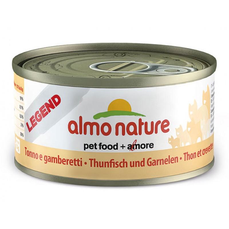 Влажный корм для кошек Almo Nature Legend Adult Cat Tuna & Shrimps 0,07 кг