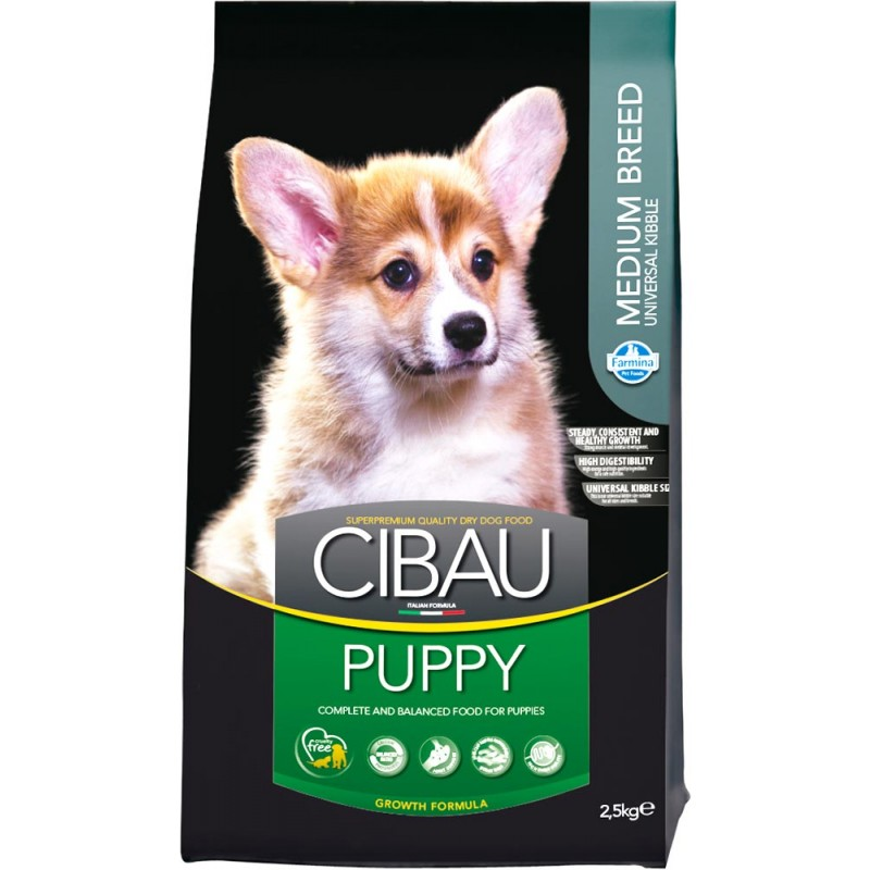 Сухой корм для щенков Farmina Cibau Puppy Medium 2,5 кг