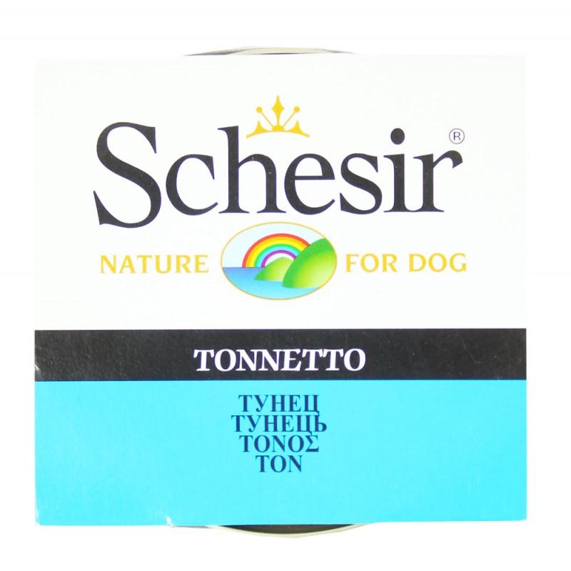 Влажный корм для собак Schesir с тунцом 0,15 кг
