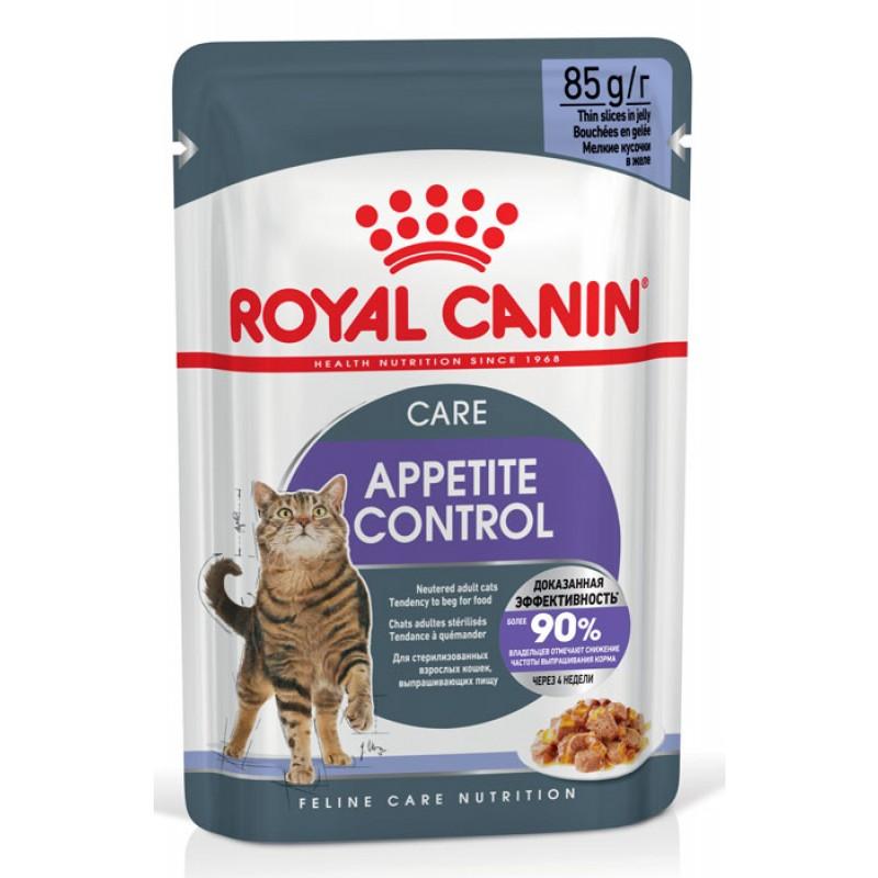 Влажный корм для кошек Royal Canin Appetite Control Care в желе 0,085 кг