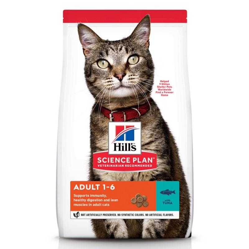 Сухой корм для кошек Hills Science Plan Feline Adult Optimal Care with Tuna 3 кг
