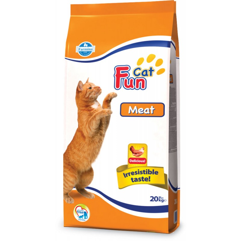 Сухой корм для кошек Farmina Fun Cat Meat 20 кг