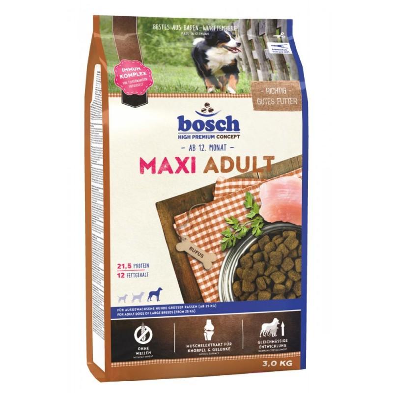 Сухой корм для собак Bosch Maxi Adult 3 кг