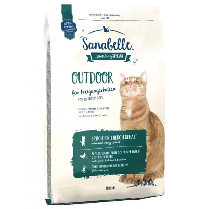 Сухой корм для кошек Sanabelle Outdoor 10 кг
