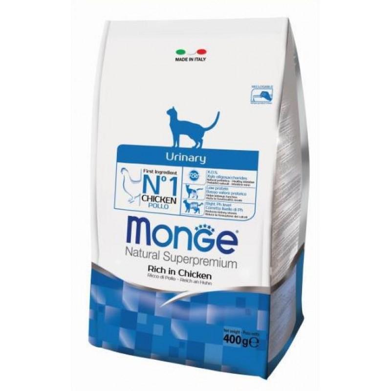 Сухой корм для кошек Monge Urinary 1,5 кг