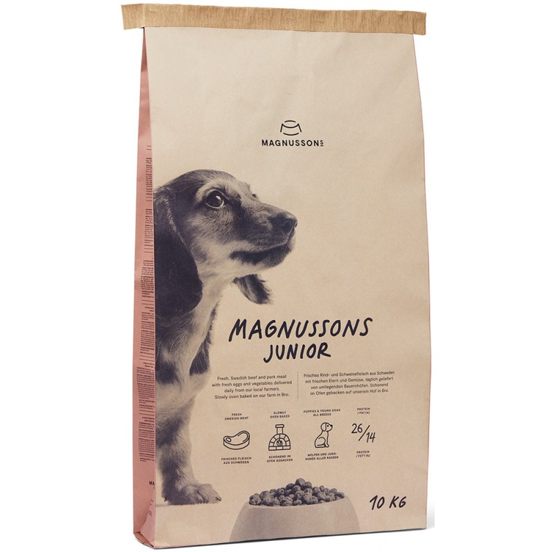Сухой корм для щенков Magnusson Meat&Biscuit Junior 10 кг