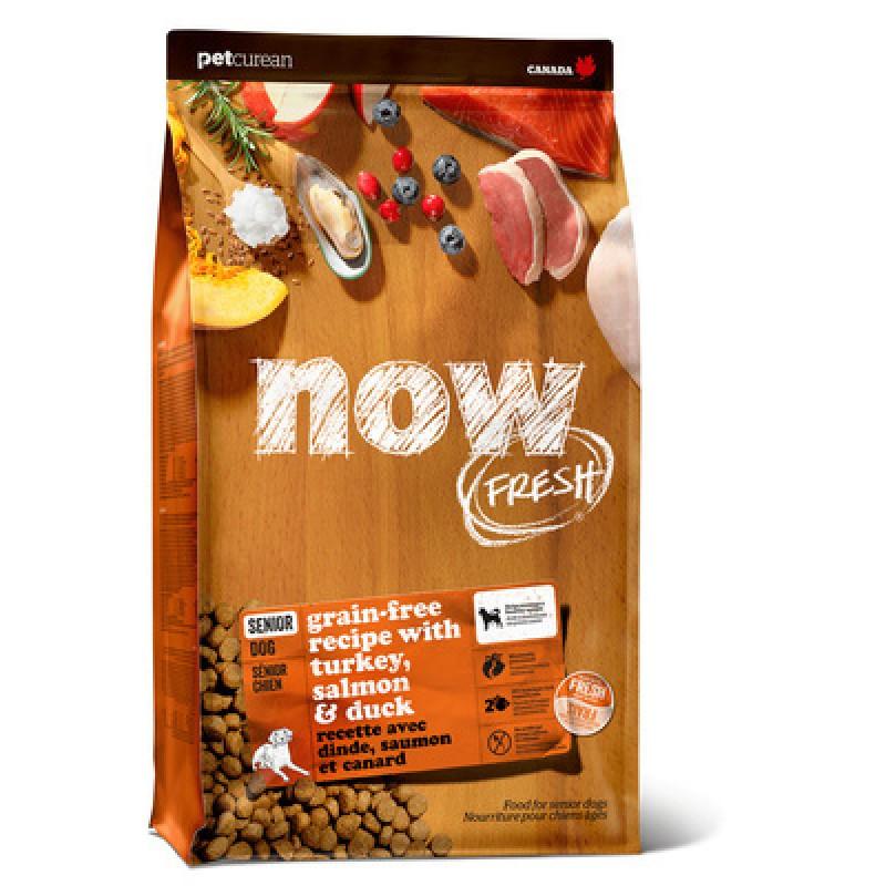 Сухой корм для собак Now FRESH Grain Free Senior Dog Food Recipe 11,4 кг