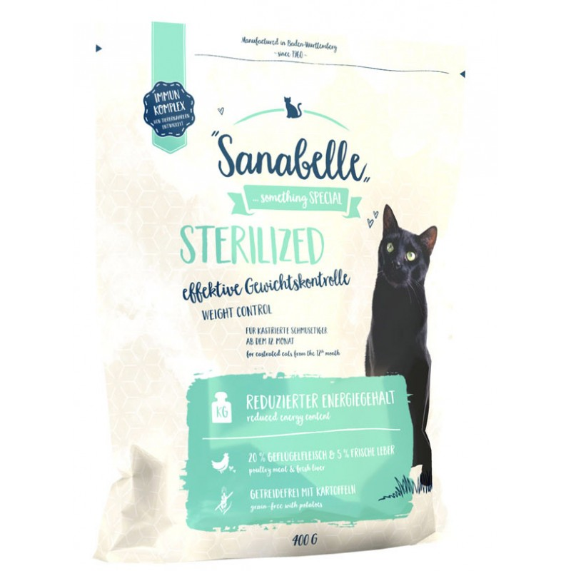 Сухой корм для кошек Sanabelle Sterilized 0,4 кг