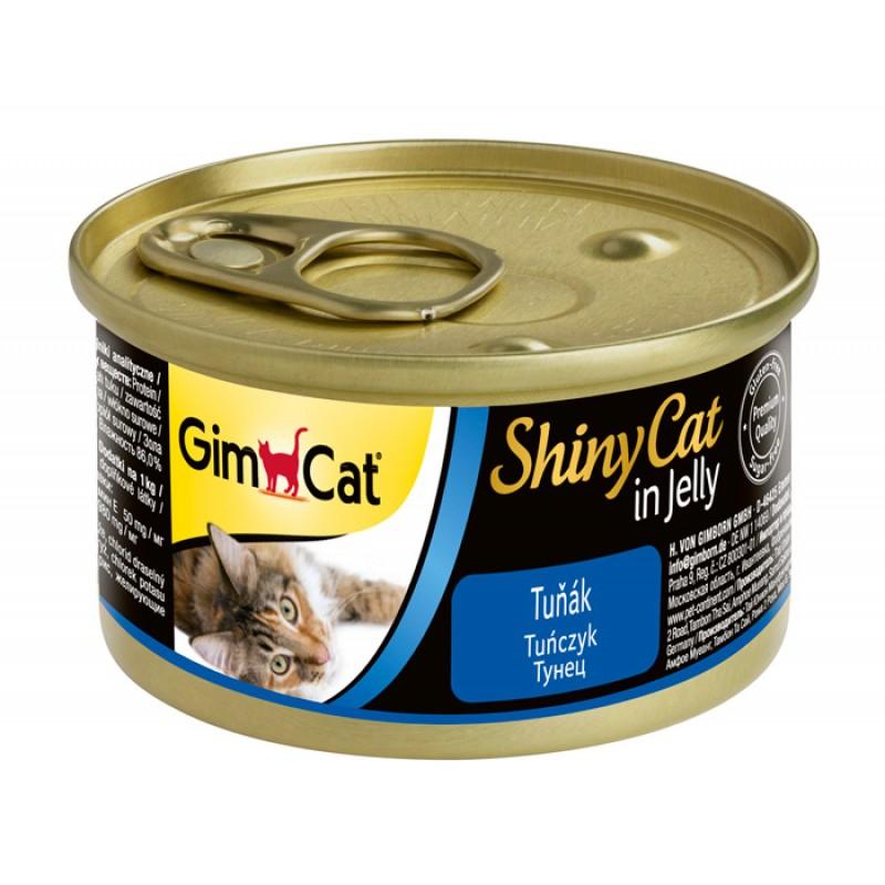 Влажный корм для кошек Gimpet ShinyCat тунец 0,07 кг
