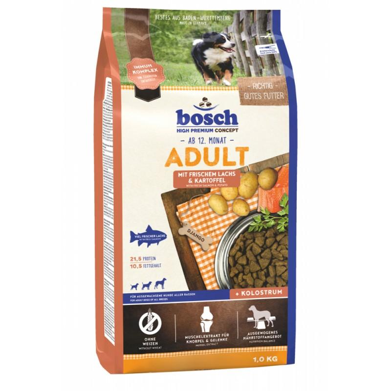 Сухой корм для собак Bosch Adult с лососем и картофелем 1 кг