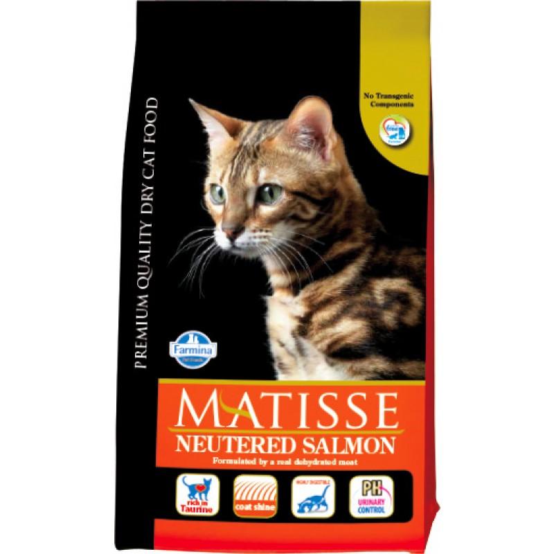 Сухой корм для кошек Farmina Matisse Neutered Salmon 1,5 кг
