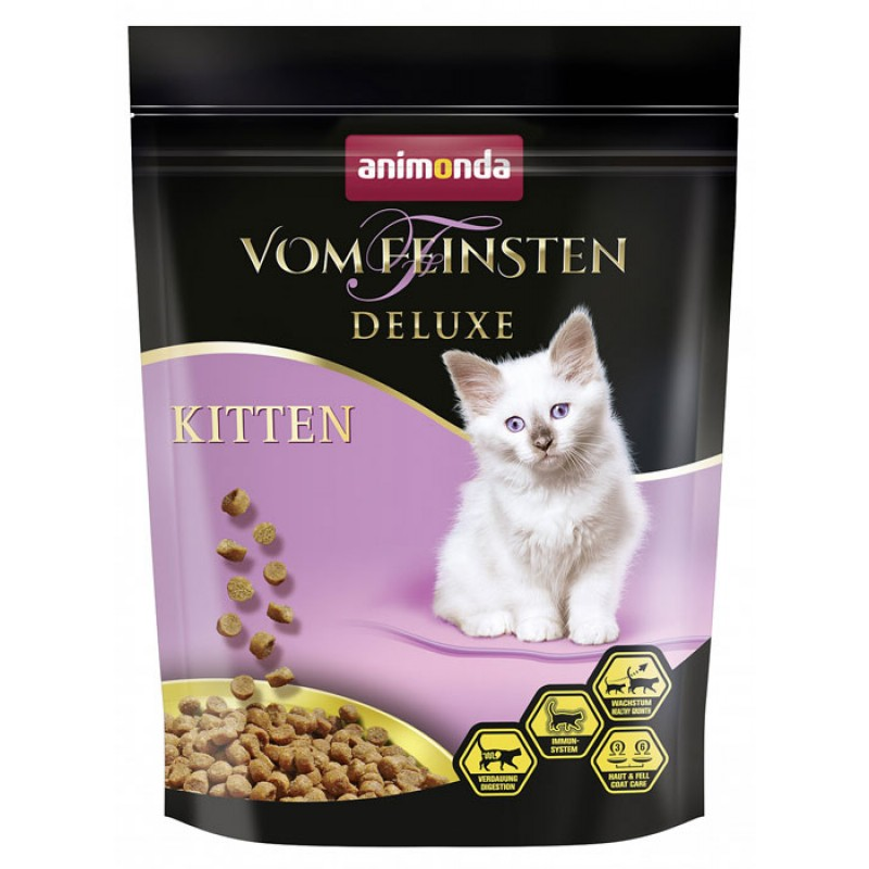 Сухой корм для котят Animonda Vom Feinsten Deluxe Kitten 0,25 кг