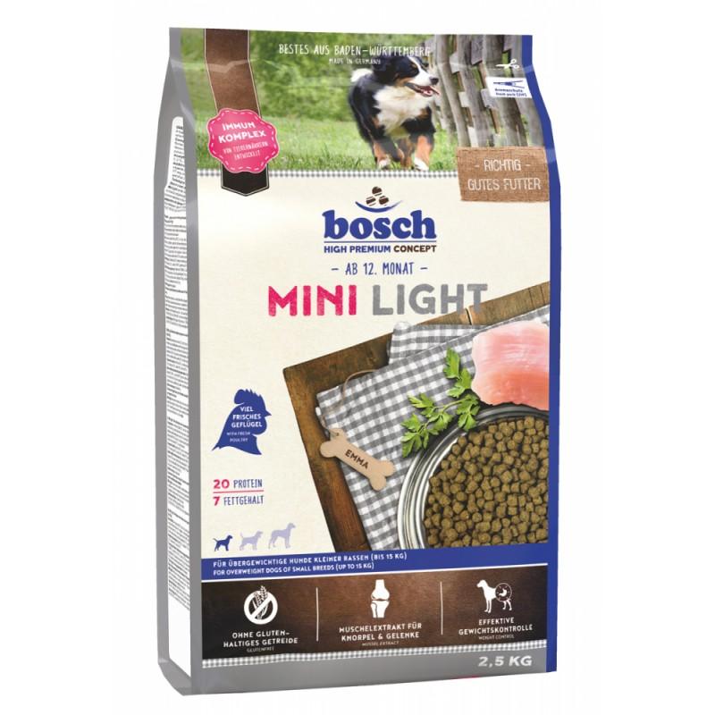 Сухой корм для собак Bosch Mini Light 2,5 кг