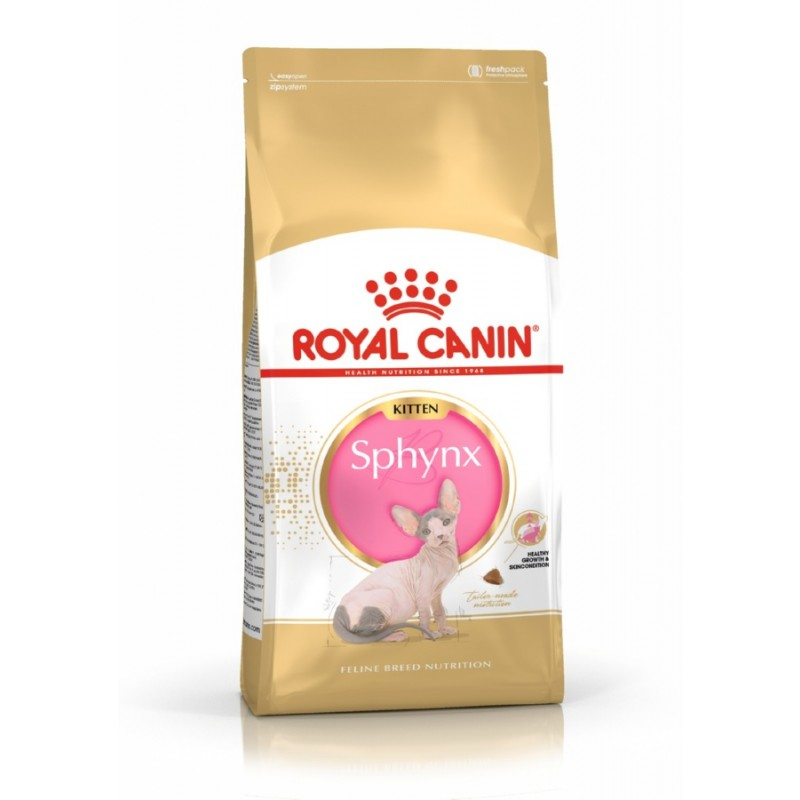 Сухой корм для котят Royal Canin Kitten Sphynx 0,4 кг